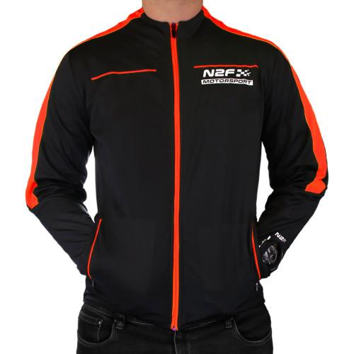 Chamarra Lifestyle nine2five Motorsport Negro Hombre