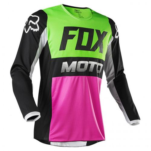Jersey MotorSports Fox 180 Fyce Azul Hombre