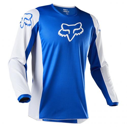 Jersey MotorSports Fox 180 Prix Azul Hombre
