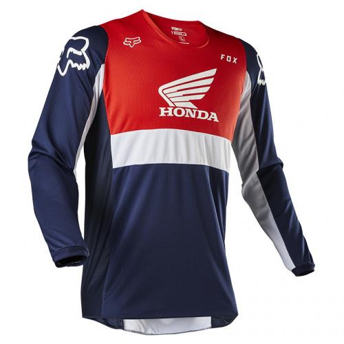 Jersey MotorSports Fox 180 Honda Azul Hombre