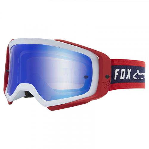 Goggles MotorSports Fox Airspace Simp Spark Rojo