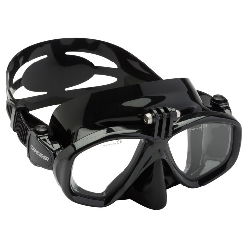 Visor Cressi Snorkeling Action Negro