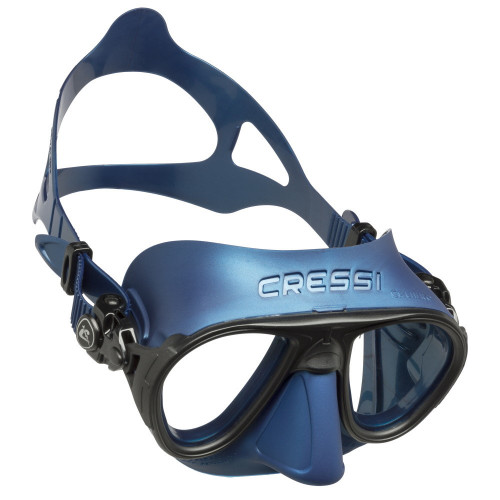 Visor Cressi Apnea Calibro Azul