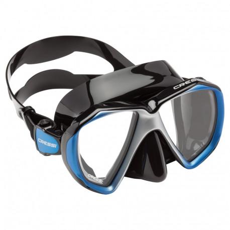 Goggles Aguas abiertas Cressi Visor Liberty Duo Negro Unisex