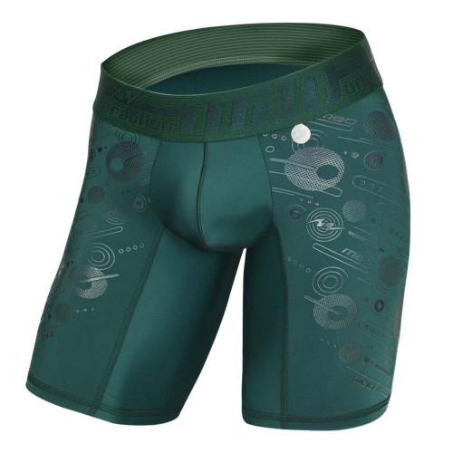 Ropa interior Fitness MAO Gel Print Verde Hombre