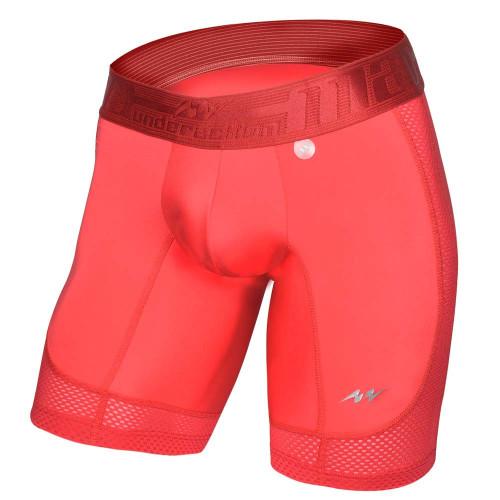 Boxer MAO Fitness Mesh Rojo Hombre