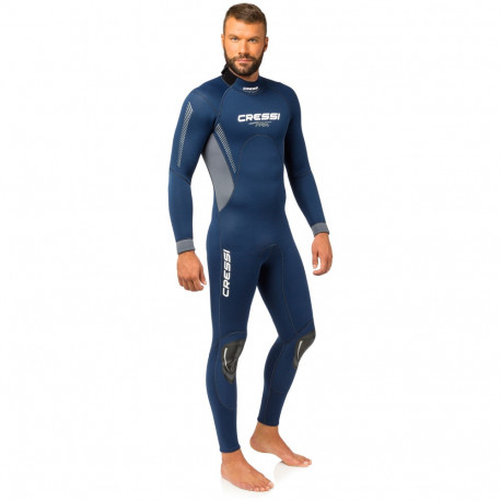 Wetsuit Aguas abiertas Cressi Traje Fast 3 mm Azul Hombre