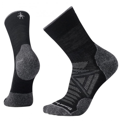 Calcetines Outdoor Smartwool PhD Outdoor Lite Mid Crew Negro