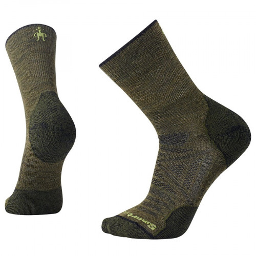 Calcetines Outdoor Smartwool PhD Outdoor Lite Mid Crew Verde