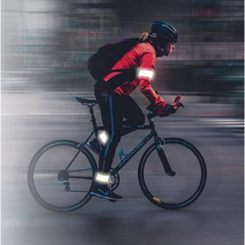 Seguridad Ciclismo RFX Sport PAR Bandas reflejantes Blanco