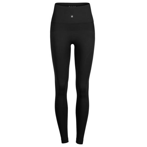 Leggings Running Voltaica Texture Negro Mujer