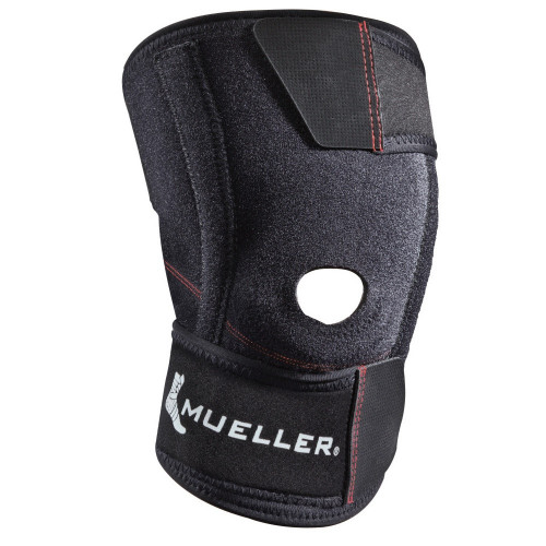 Wraparound knee stabilizer