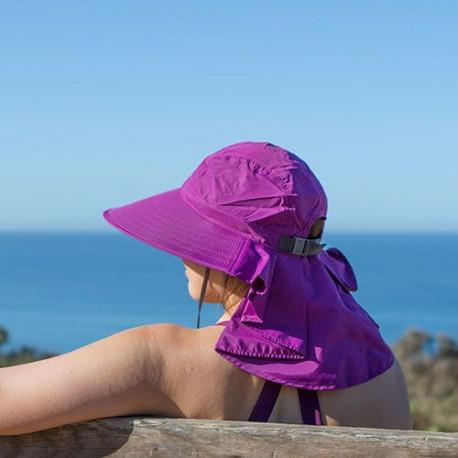 Sombrero Outdoor Sunday Afternoons Sundancer UPF 50+ Morado Mujer