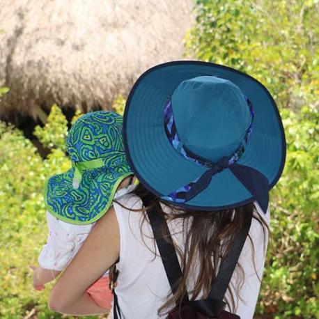 Sombrero Outdoor Sunday Afternoons Waterside UPF 50+ Negro Mujer