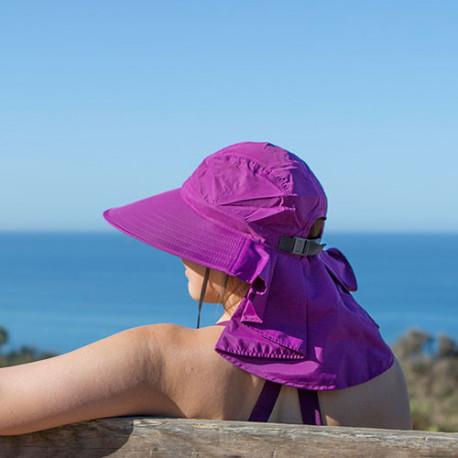 Sombrero Outdoor Sunday Afternoons Sundancer UPF 50+ Negro Mujer
