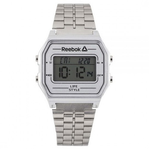 Reloj Lifestyle Reebok RBK Digital Plateado RDVNEG9P1S1W1 Plateado Hombre