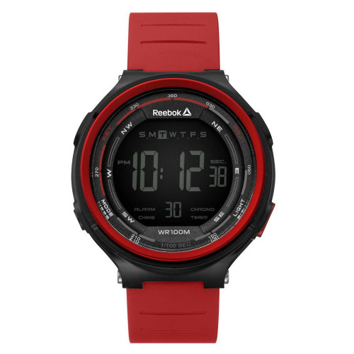 Reloj Fitness Reebok RBK Digital RDKLSG9PBPRWR Rojo Hombre