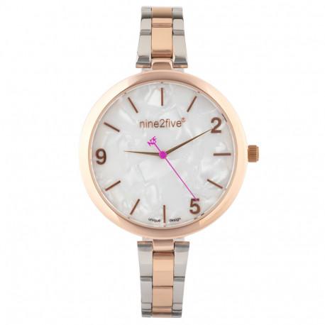 Reloj Lifestyle nine2five Nine2Five Casual ABVE13RGBL Dorado Mujer