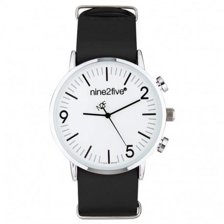 Reloj Lifestyle nine2five Nine2Five Casual AFW19R15NGBLS1 Negro Hombre