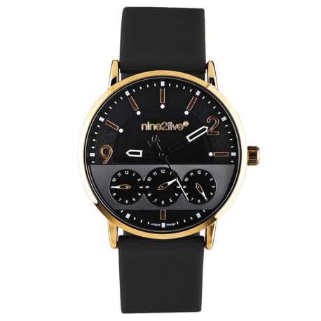 Reloj Lifestyle nine2five Nine2Five Casual AFW19T15NGNGS1 Negro Hombre