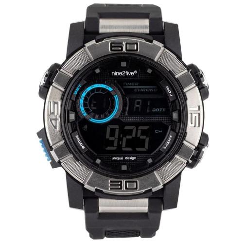 Reloj Fitness nine2five Sport Negro Hombre