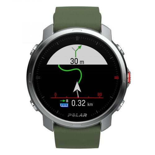 Reloj Triatlón Polar Grit X Verde Unisex