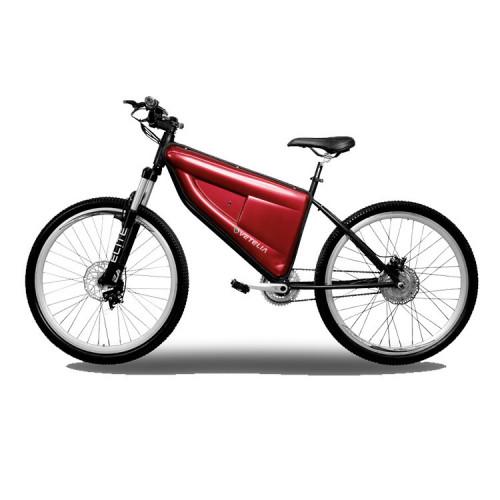 """Electrica Ciclismo Vetelia Multipropósito, rodada 26"""", cuadro acero, 1 X 7 V Negro"""