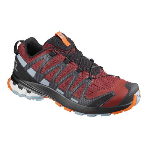 Tenis Trail Running Salomon XA Pro 3D V8 Rojo Hombre