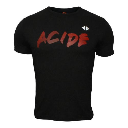 Playera Running Acide Sportswear Blood Negro Hombre