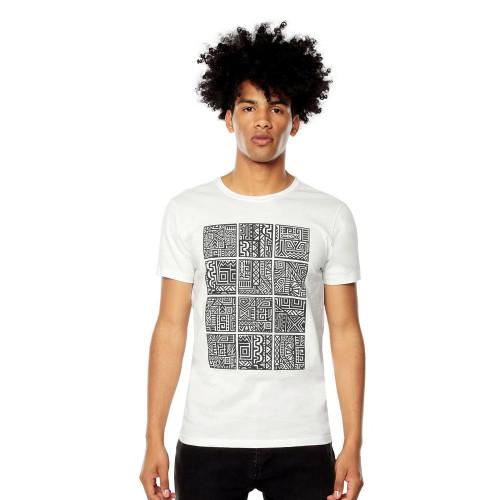 Playera Lifestyle Totto T-Shirt Mode Blanco Hombre