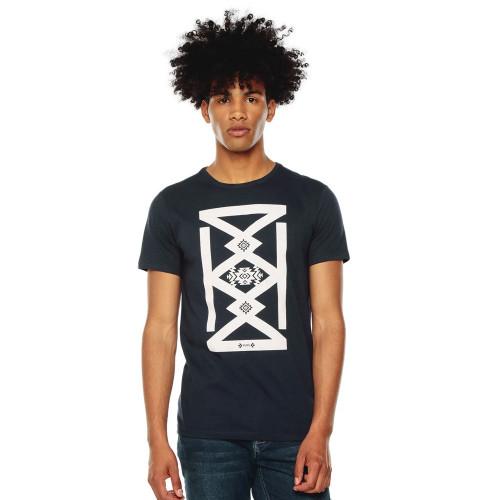 Playera Lifestyle Totto T-Shirt Mode Negro Hombre