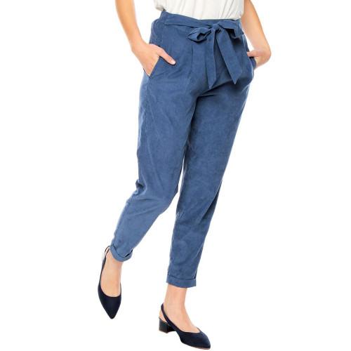 Pantalon Lifestyle Totto Pantalon Siuty Azul Mujer