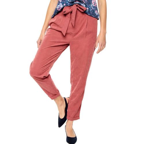 Pantalon Lifestyle Totto Pantalon Siuty Rojo Mujer