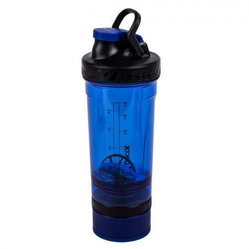 Botella Fitness Décor Botella para proteina 800 ml Azul