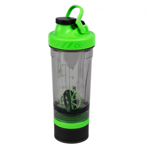 Botella Fitness Décor Tone Protein Shaker 800 ml Verde