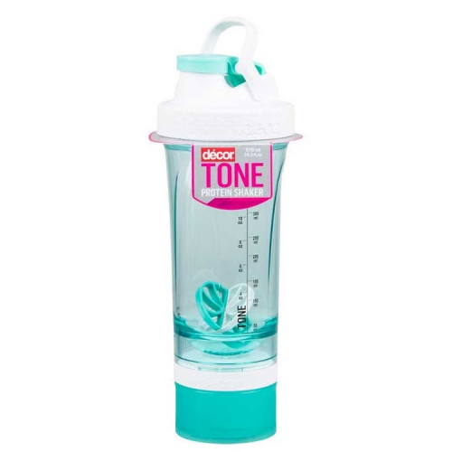 Botella Fitness Décor Tone Protein Shaker 570 ml Verde