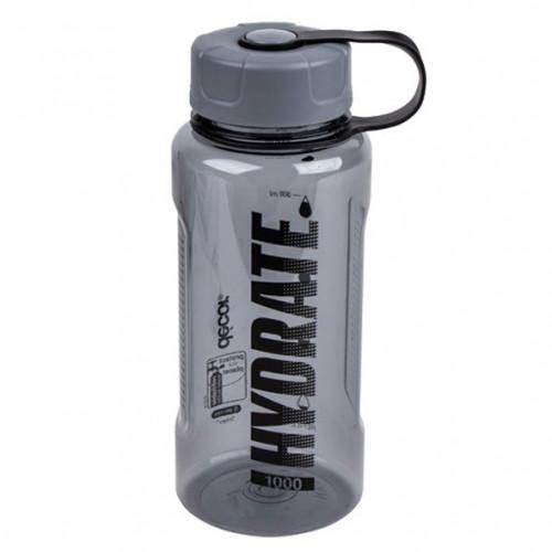 Botella Fitness Décor Botella Fitness Décor Botella de plastico Tritan Negro  Negro