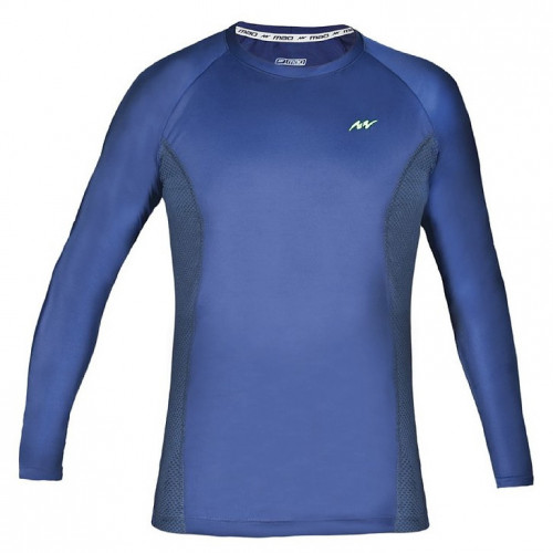 Playera Fitness MAO Jersey Azul Hombre