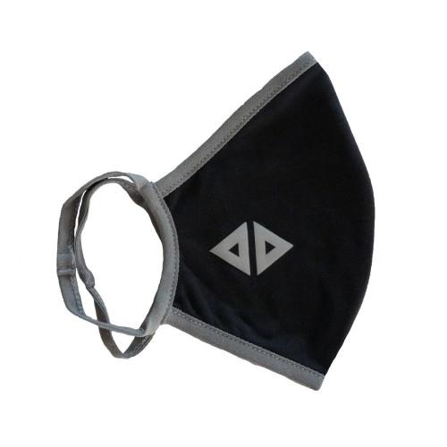 Cubrebocas Lifestyle Acide Sportswear Liso Negro