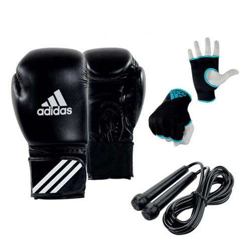 Kit Boxeo Adidas Boxing Negro