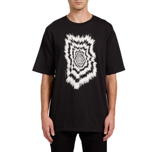 Playera Skateboarding Volcom The Projectionist Negro Hombre