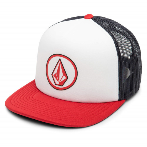 Gorra Skateboarding Volcom Full Frontal Cheese Blanco Hombre