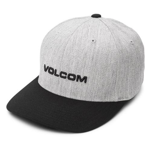 Gorra Skateboarding Volcom Euro Xfit Gris Hombre