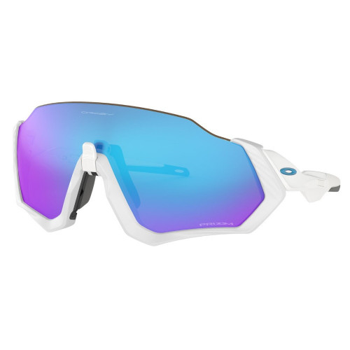 Lentes Oakley Ciclismo Flight  Jacket Azul