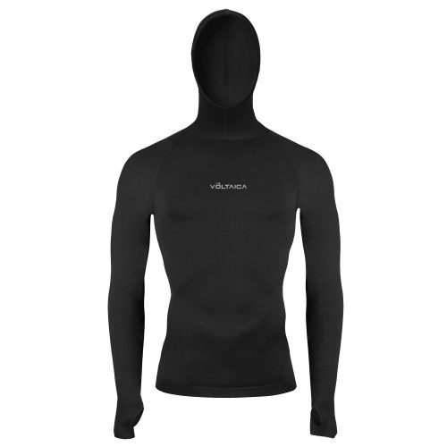 Sudadera Fitness Voltaica Base Layer Negro Hombre