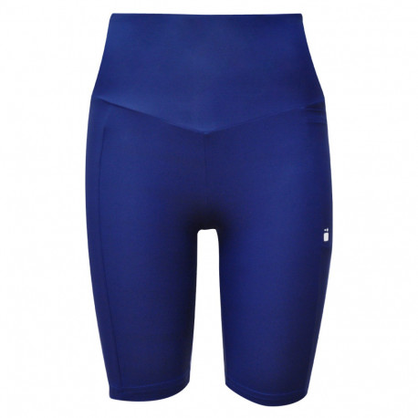 Short Voltaica Ciclismo Biker Fit Azul Mujer