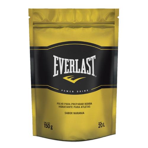 Hidratacion Everlast Fitness Polvo Naranja Amarillo Hombre