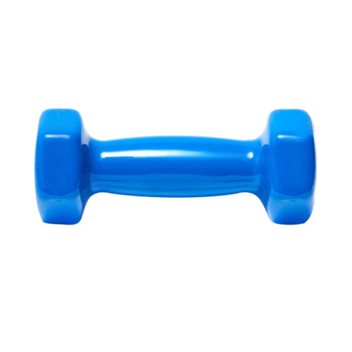 Pesas Fitness DEPORFITT Mancuerna 1 KG. Azul