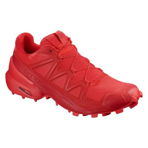 Tenis Trail Running Salomon Speedcross 5 Rojo Hombre