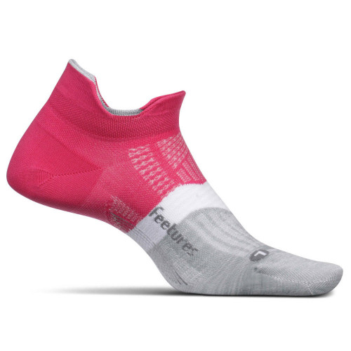 Calcetines Running Feetures Light No Show Rosa